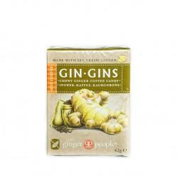 The Ginger People, Košļājamās ingvera-kafijas konfektes, bez glutēna, 42g