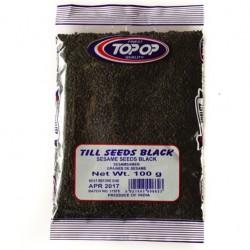 Melnās sezama sēklas